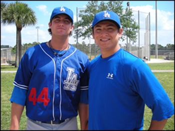 Brent Leach and Javy Guerra
